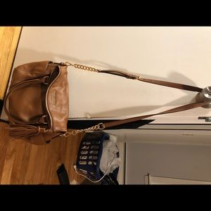 Michael kors cognac cross body